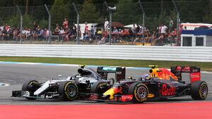 Nico Rosberg - Mercedes - Max Verstappen - Red Bull - GP Deutschland 2016 - Hockenheim