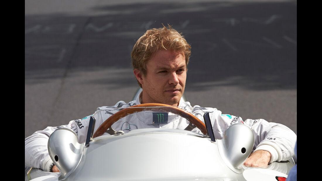 Nico Rosberg - Mercedes - Nordschleifen-Aktion - GP Deutschland 2013