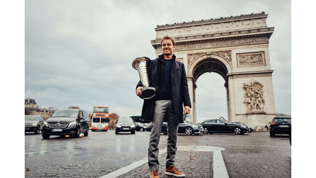 Nico Rosberg - Mercedes - Paris
