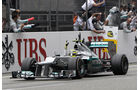Nico Rosberg Mercedes W03 GP China 2012