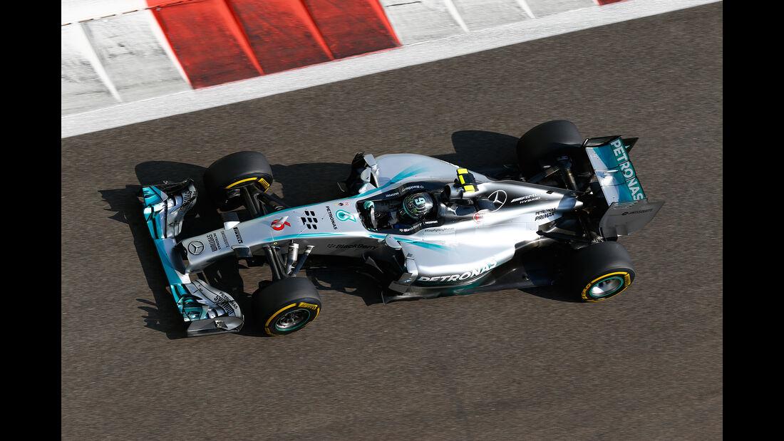 Nico Rosberg - Mercedes W05 - GP Abu Dhabi 2014