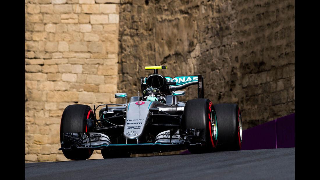 Nico Rosberg - Mercedes W07 - GP Aserbaidschan 2016