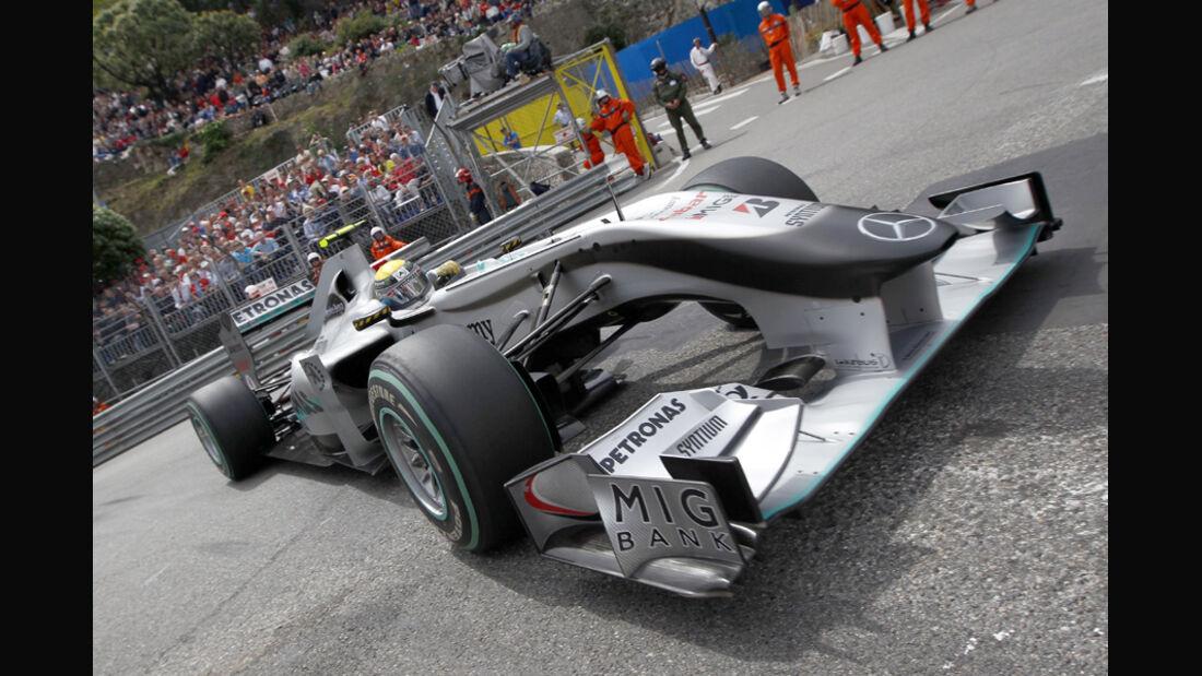 Nico Rosberg - Monaco 2010