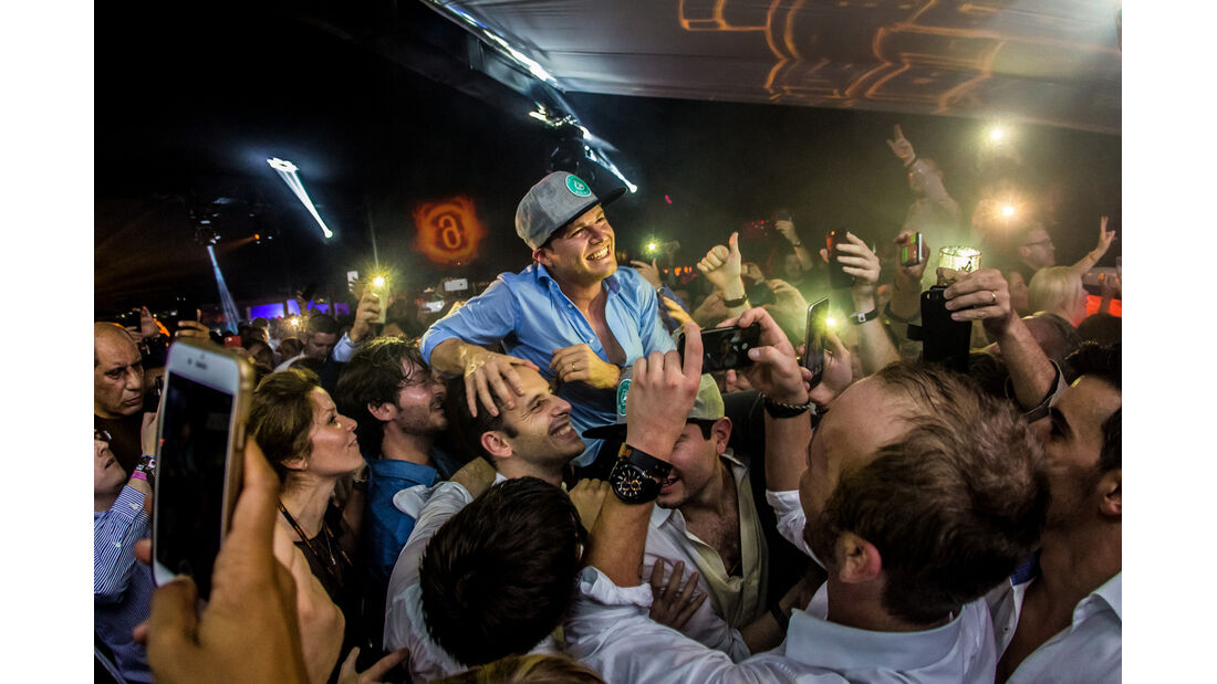 Nico Rosberg - Party Abu Dhabi - Amber Lounge 2016