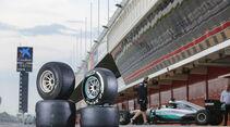 Nico Rosberg - Pirelli 2017er Reifen-Test - Barcelona - Oktober 2016
