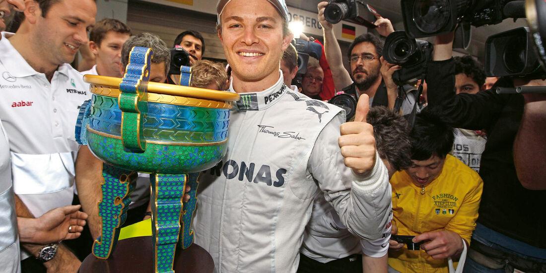 Nico Rosberg, Pokal, Shanghai