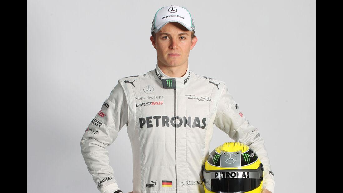 Nico Rosberg Porträt 2012