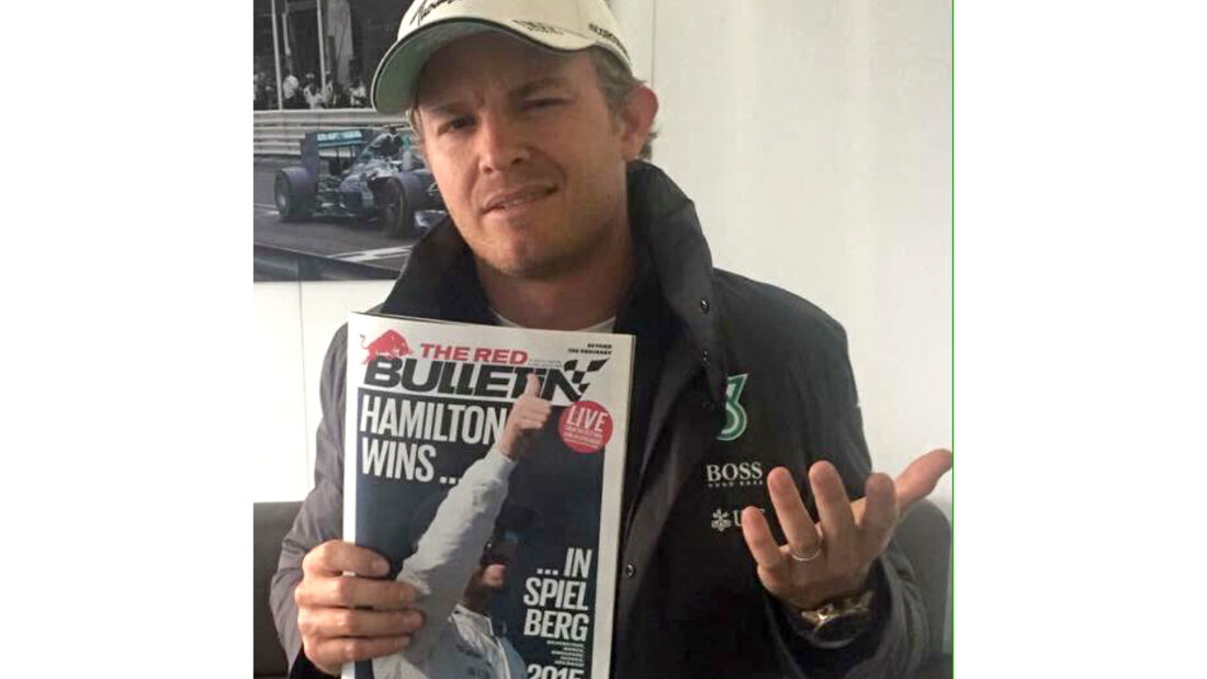 Nico Rosberg - Red Bulletin - GP Österreich 2015