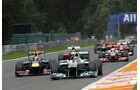 Nico Rosberg Rennen GP Belgien 2011