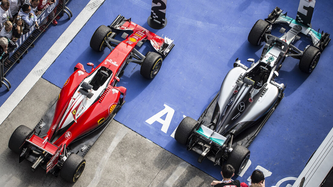 Nico Rosberg & Sebastian Vettel - GP China 2016