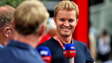 Nico Rosberg - Sky - TV