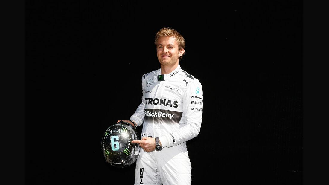 Nico Rosberg - Startnummer 2014