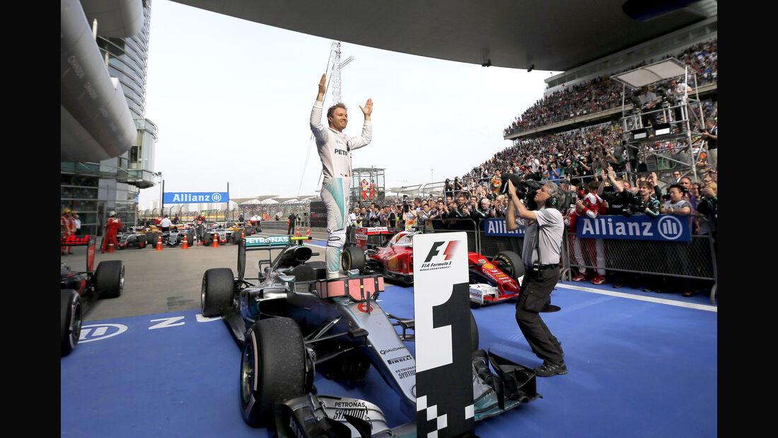 Nico Rosberg - Statistik - GP China 2016