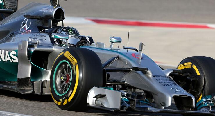 Nico Rosberg - Test Bahrain 2014