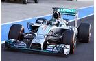 Nico Rosberg - Test Silverstone 2014