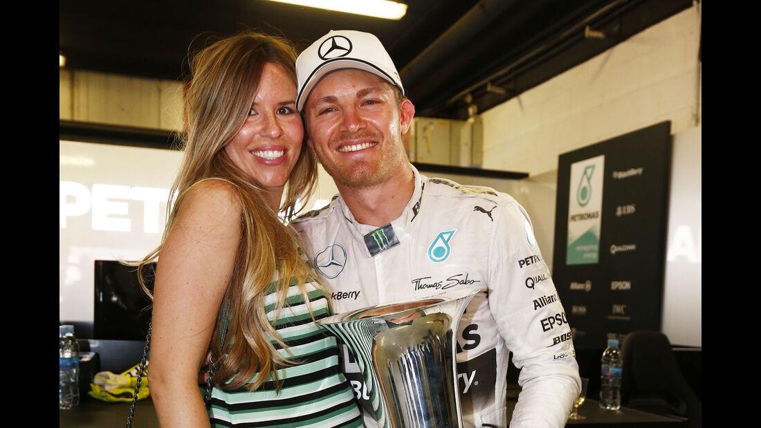 Nico Rosberg & Vivian Rosberg