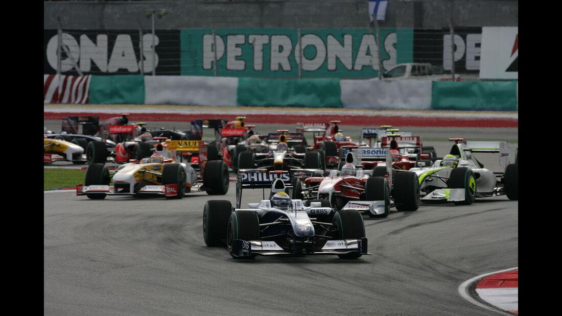 Nico Rosberg - Williams - GP Malaysia 2009