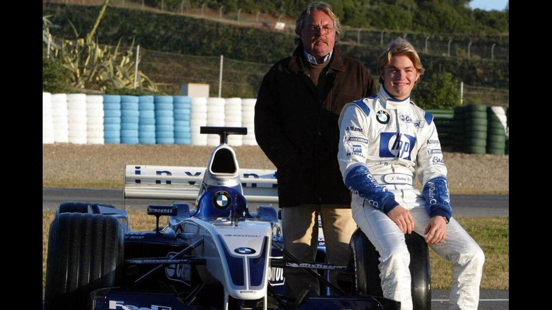 Nico Rosberg Williams Test 2003