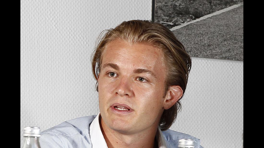 Nico Rosberg im Profil