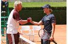 Nico Rosberg und Boris Becker