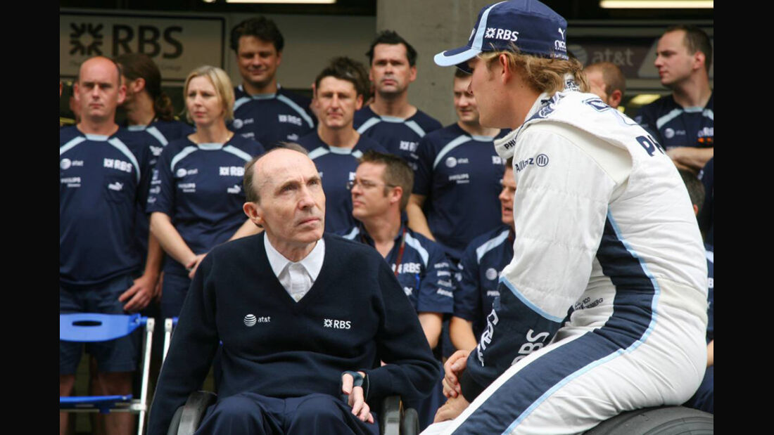 Nico Rosberg und Frank Williams