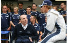 Nico Rosberg und Frank Williams