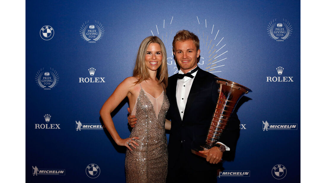 Nico & Vivian Rosberg - FIA-Gala 2016 - Preisverleihung