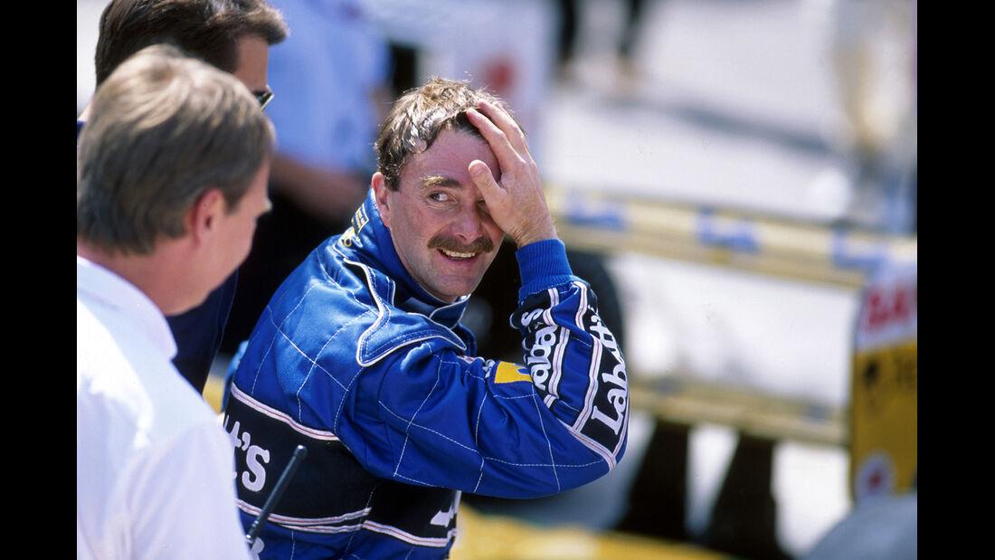 Nigel Mansell - 1992