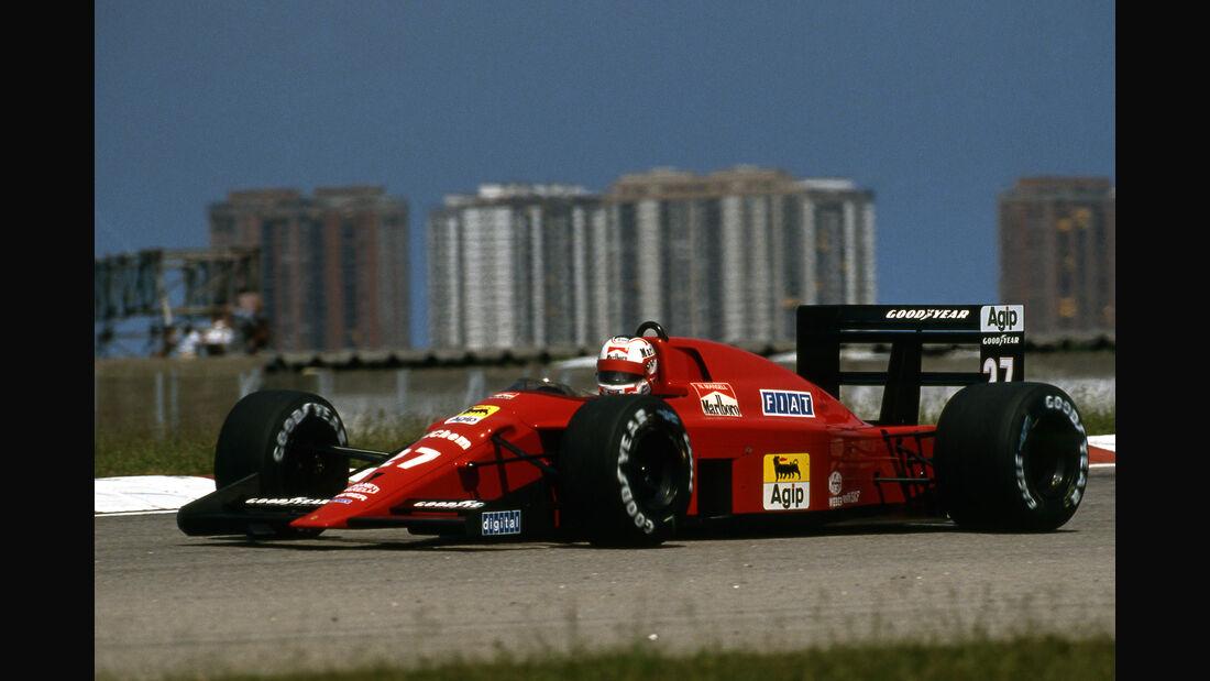 Nigel Mansell - Ferrari 640 - Rio 1989