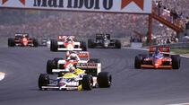 Nigel Mansell - Formel 1 - GP Ungarn 1986