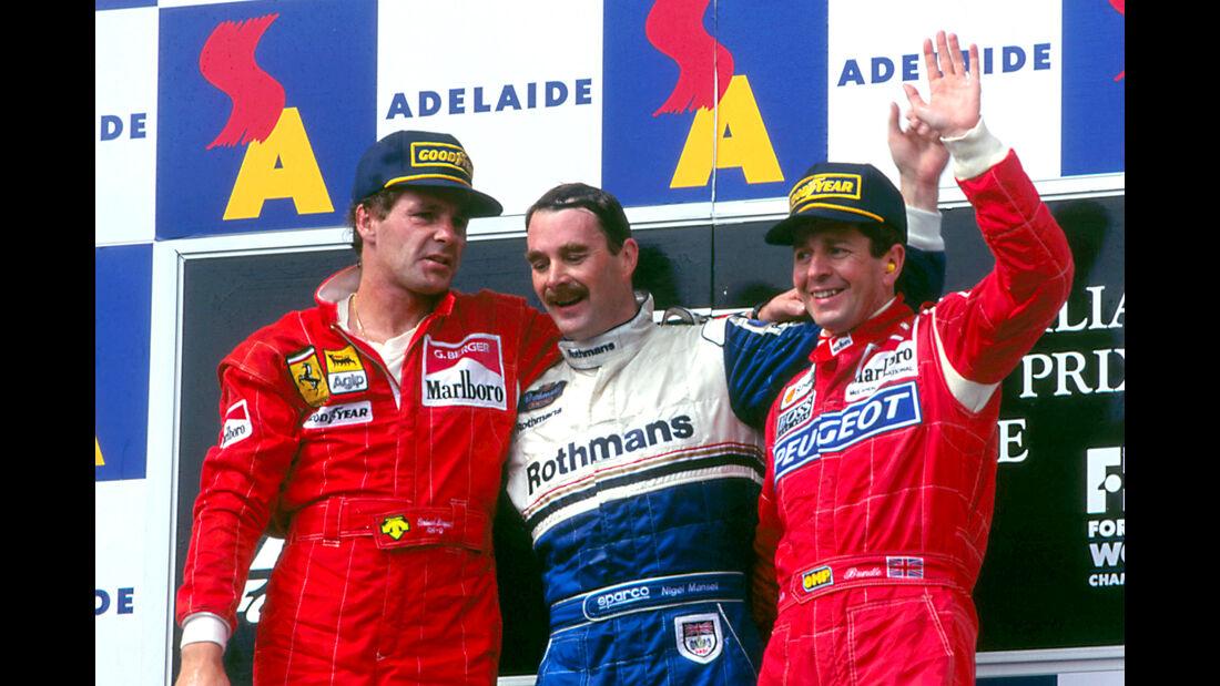 Nigel Mansell - GP Australien 1994