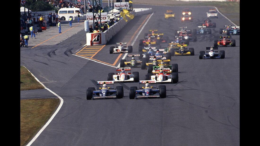 Nigel Mansell - GP Japan 1992