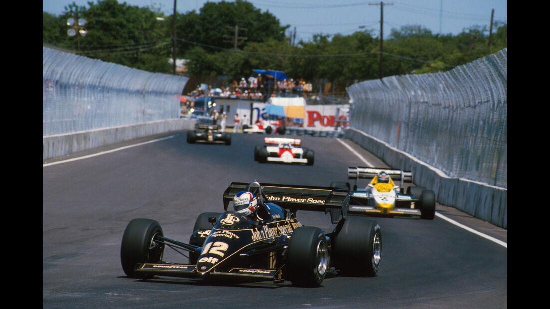Nigel Mansell - Lotus 95T - GP USA 1984 - Dallas
