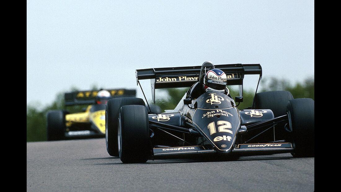 Nigel Mansell, Lotus-Renault 95T Turbo