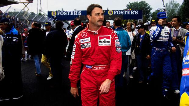 Nigel Mansell - McLaren - 1995