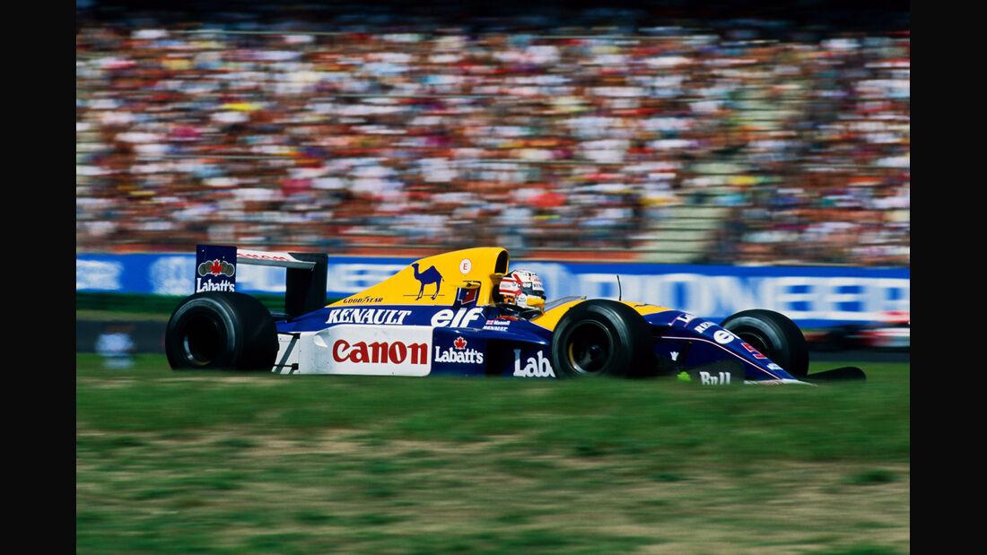 Nigel Mansell Williams 1992