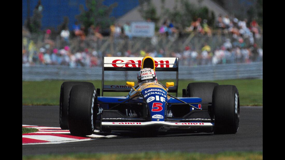Nigel Mansell - Williams FW14 - GP Kanada 1991 - Montreal