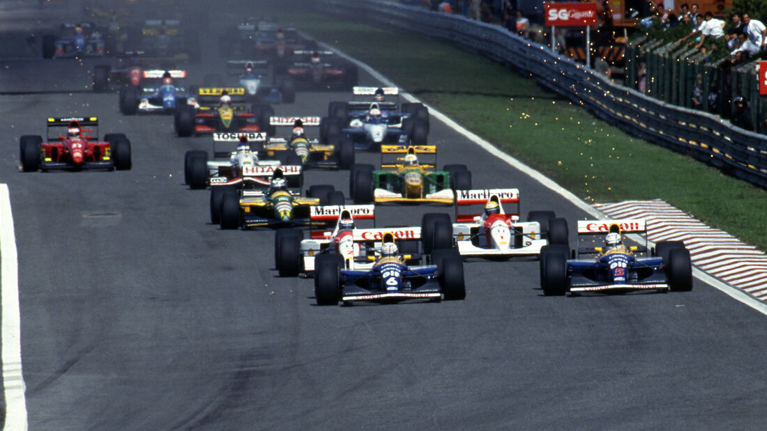 Nigel Mansell - Williams FW14B - F1-Saison 1992
