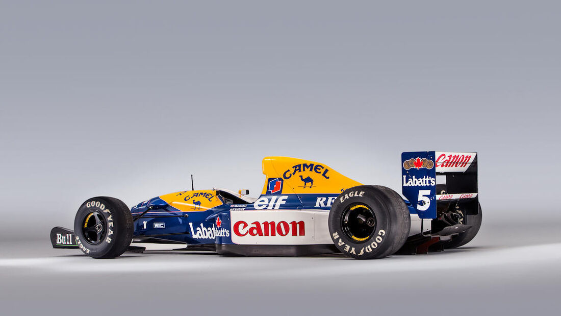 Nigel Mansell - Williams FW14B - Formel 1 - Studio