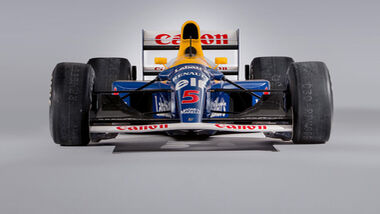 Nigel Mansell - Williams FW14B - Formel 1 - Studio