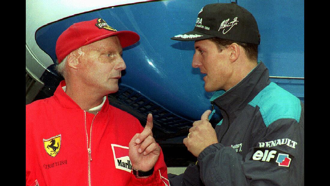 Niki Lauda 1995