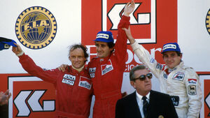 Niki Lauda - Alain Prost - Estoril 1984