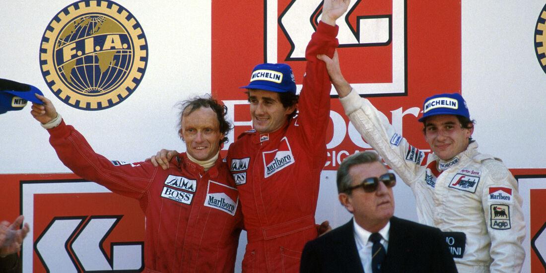 Niki Lauda - Alain Prost - Estoril 1984