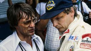 Niki Lauda - Bernie Ecclestone 1979