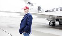 Niki Lauda - Bombardier Global 6000