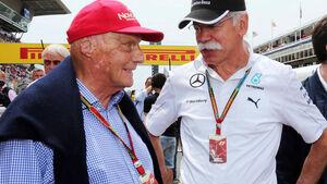 Niki Lauda Dieter Zetsche Mercedes