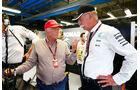 Niki Lauda - Dieter Zetsche - Mercedes - GP Italien - Monza - Qualifying - 5.9.2015
