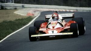 Niki Lauda - Ferrari 312 T2 F12 - Nürburgring 1976