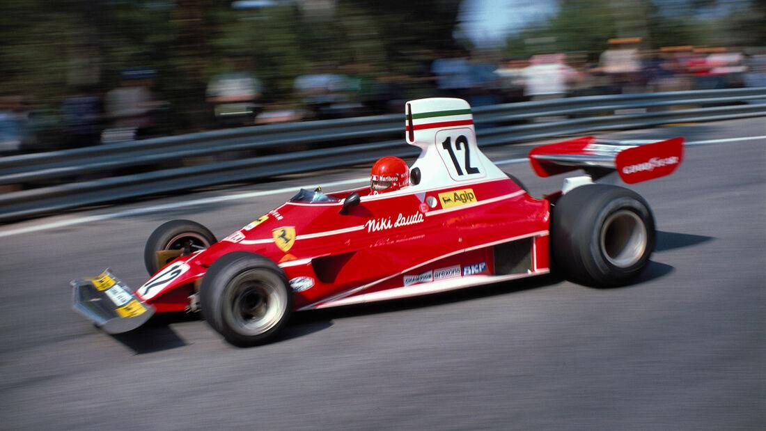 Niki Lauda - Ferrari 312T - GP Spanien 1975