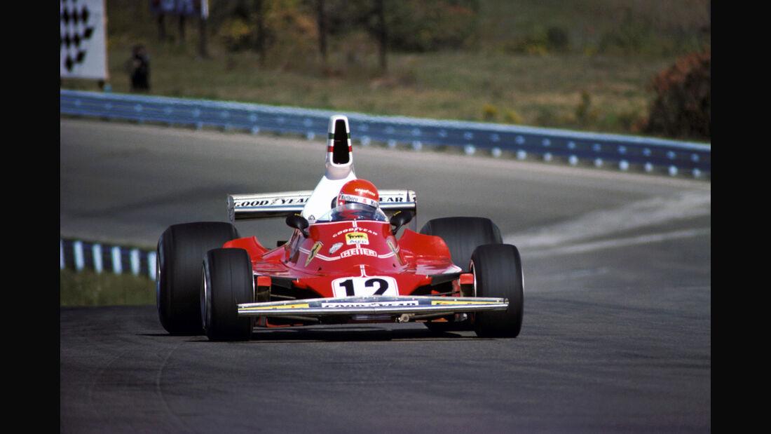 Niki Lauda - Ferrari 312T - Watkins Glen 1975